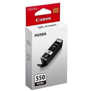 CANON CARTUCHO DE TINTA NEGRO PGI-550PGBK 6496B001 300 PÁGINAS 15ML