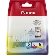 Cartucho de Tinta Tricolor Canon BCI-6C-M-Y