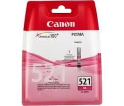 Cartucho de Tinta Magenta Canon CLI-521M