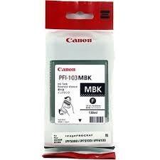 IPF5100/6100 DEPÓSITO DE TINTA NEGRA MATE (130 ML) PFI 103 MBK