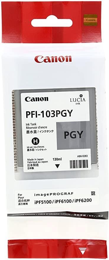 CARTUCHO DE TINTA FOTOGRAFICO GRIS PIGMENTADA 130 ML CANON PFI-103PG