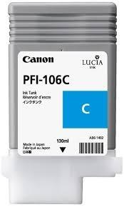CARTUCHO DE TINTA CIAN 130 ML CANON 6622B001