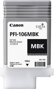 CARTUCHO DE TINTA NEGRO MATE 130 ML CANON 6620B001