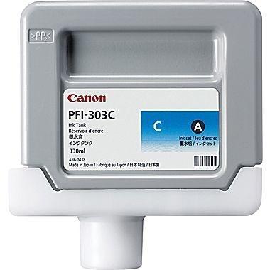 CARTUCHO DE TINTA CIAN 330 ML CANON PFI-303C