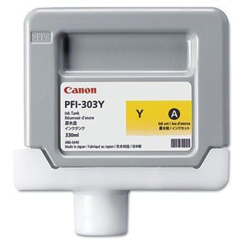 CARTUCHO DE TINTA AMARILLO 130 ML CANON PFI-303Y