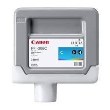 CARTUCHO DE TINTA CIAN 330 ML CANON PFI-306