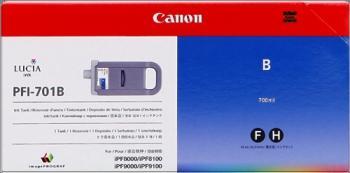 CARTUCHO DE TINTA CIAN 700 ML CANON PFI-701B