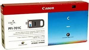 CARTUCHO DE TINTA CIAN 700 ML CANON PFI-701C