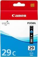 CARTUCHO DE TINTA CIAN CANON PGI-29C