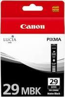 CARTUCHO DE TINTA MATE CANON PGI-29MBK
