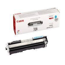 CARTUCHO DE TÓNER CIAN CANON CRG-729C