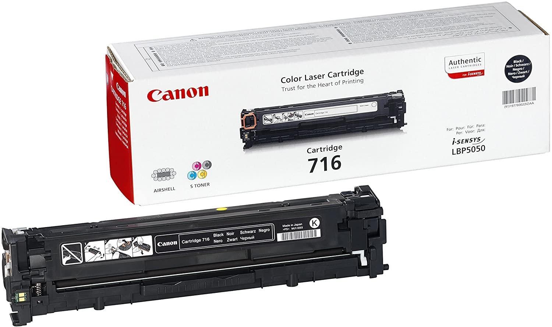 Cartucho de tóner Negro Canon CRG-716BK
