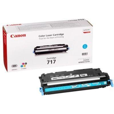 CARTUCHO DE TÓNER CIAN CANON CRG-717C