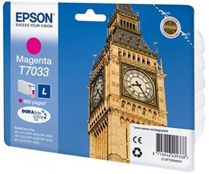 CARTUCHO DE TINTA MAGENTA L EPSON T7033
