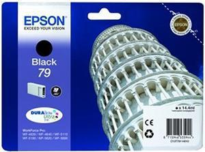 CARTUCHO DE TINTA NEGRO 14.4 ML 79 EPSON T7911 para WorkForce WF-5620DWF