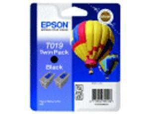 CARTUCHO DE TINTA NEGRO PACK 2 EPSON T019