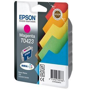 CARTUCHO DE TINTA MAGENTA 16 ML EPSON T0423