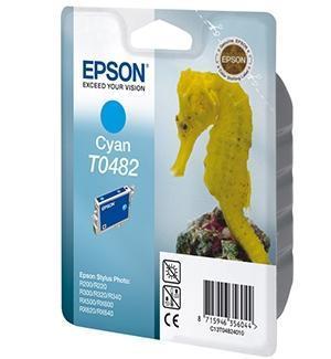 Cartucho de Tinta Cian 13 ml Epson T0482