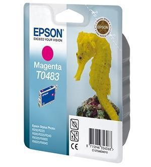 CARTUCHO DE TINTA MAGENTA 13 ML EPSON T0483