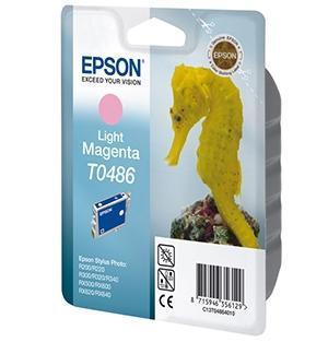 Cartucho de Tinta Magenta Claro 13 ml Epson T0486