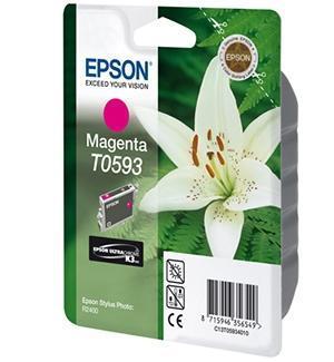 CARTUCHO DE TINTA MAGENTA EPSON T0593