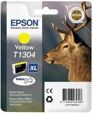 CARTUCHO DE TINTA AMARILLO 2540 ML EPSON T1304