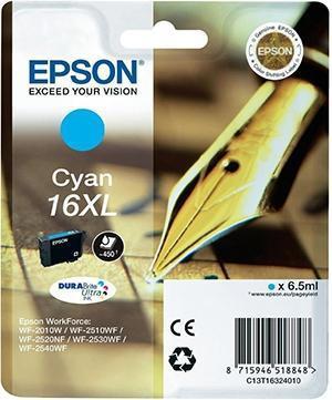 Cartucho de Tinta Cian Epson 16 - (T1632)