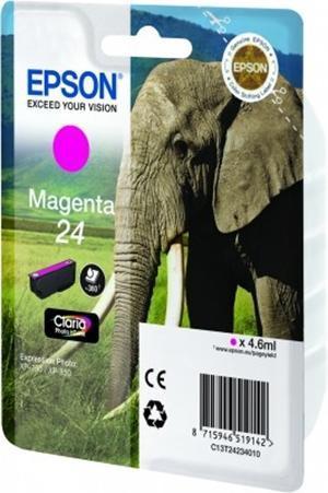 CARTUCHO DE TINTA MAGENTA EPSON 24 - (T2423)