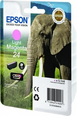 Cartucho de Tinta Magenta Claro Epson 24 - (T2426)