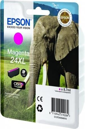 Cartucho de Tinta Magenta Alta Capacidad Epson 24XL