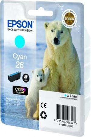 CARTUCHO DE TINTA CIAN EPSON 26 - (T2612)