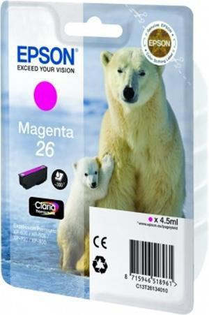 CARTUCHO DE TINTA MAGENTA EPSON 26 - (T2613)