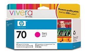 CARTUCHO DE TINTA MAGENTA 130 ML HP Nº 70 para DesignJet Z3200
