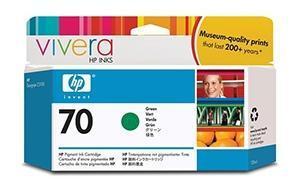 CARTUCHO DE TINTA VERDE 130 ML HP Nº 70