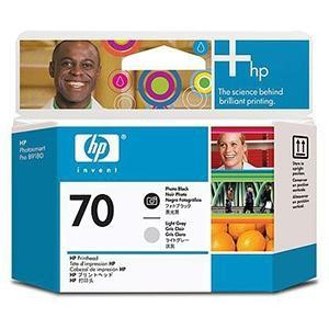 Cabezal de Impresion negro y Gris Claro Fotografico HP Nº 70