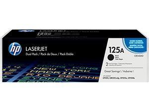 Cartucho de tóner negro CB540A Pack 2 HP 125A