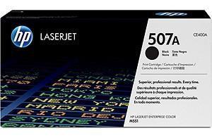 Cartucho de tóner negro HP 507A