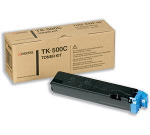 CARTUCHO DE TONER CIAN KYOCERA-MITA TK-500C8.000