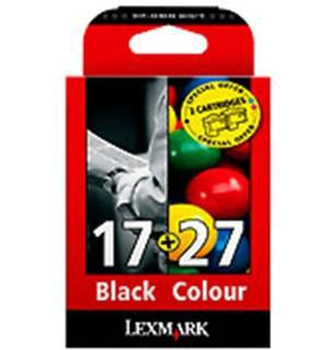 CARTUCHO DE TINTA RAINBOW PACK LEXMARK Nº 17+Nº 27