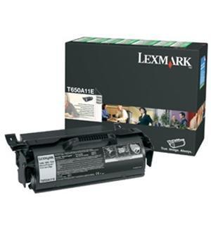 Cartucho de toner negro Retornable Lexmark T650A