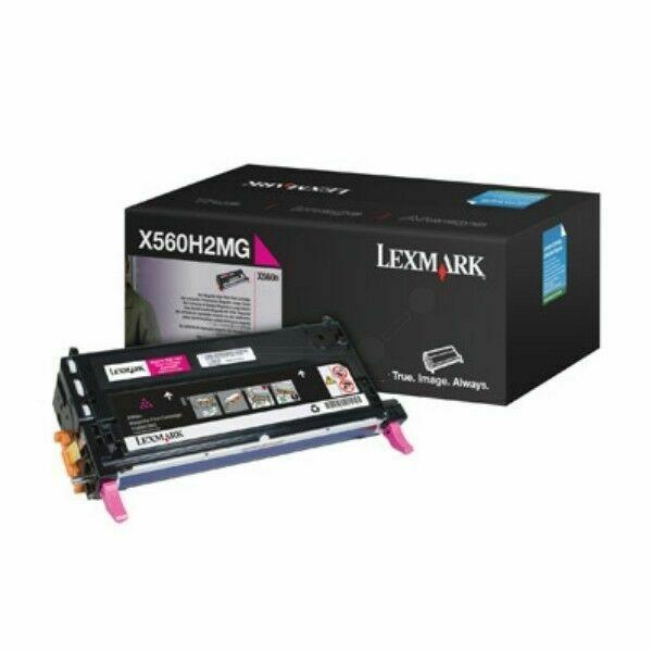 LEXMARK X560 CARTUCHO DE IMPRESIÓN MAGENTA ALTO RENDIMIENTO