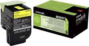 Comprar cartucho de toner 80C2HYE de Lexmark online.