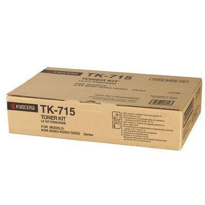 CARTUCHO DE TONER COPIADORA NEGRO TK-715 para KM-5050