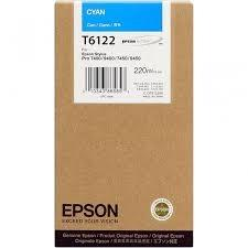 CARTUCHO DE TINTA CIAN 220 ML EPSON T6122
