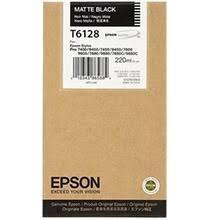 CARTUCHO DE TINTA NEGRO MATE 220 ML EPSON T6128 para Stylus Pro 7450
