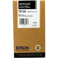 CARTUCHO DE TINTA NEGRO MATE 110 ML EPSON T6138