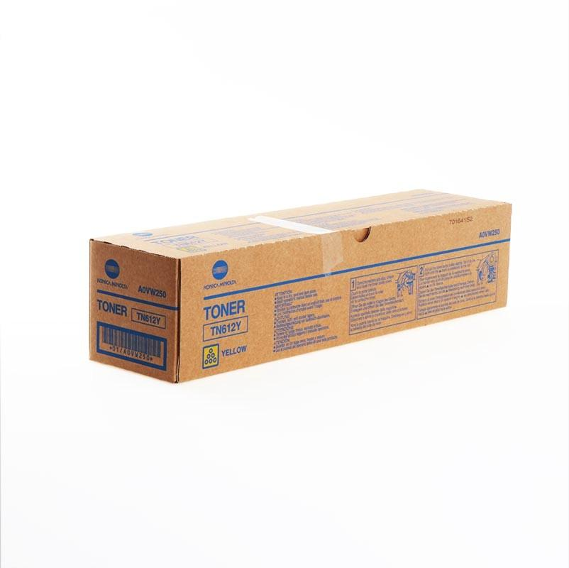 CARTUCHO DE TONER AMARILLO DEVELOP TN-612Y