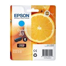 Cartucho de Tinta Cian 4.5 ml Epson 33 - (T3342)