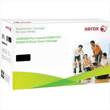 TONER NEGRO XEROX COMPATIBLE CON LEXMARK E260A21E (3500 PAG)