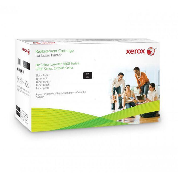 CARTUCHO DE TÓNER XEROX COMPATIBLE CON LA REFERENCIA Q6470A DE HP Q6470A NEGRO MAS DE 6000 PAG.